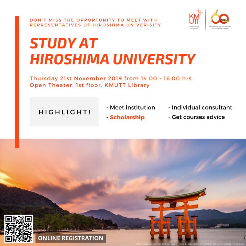 STUDY AT HIROSHIMA U